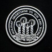 1992 Holiday Greetings Sunshine Kellogg Operations 1-oz .999 Silver Round In Cap