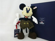 Disney Mickey Mouse Steiff And Donaldson Limited To 2000 Only 1997 Vintage 35cm