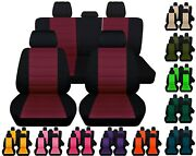 Front And Rear Car Seat Covers Fits Suzuki Aerio 2003-2007 Choice Of 15 Colors