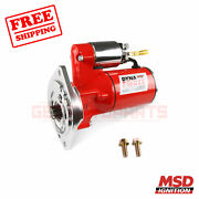 Msd Starter Motor For Ford Galaxie 500 65-1972
