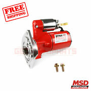 Msd Starter Motor Compatible With Mercury 1975-1980 Monarch