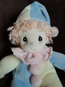 Pastel Precious Moments Tender Tails Baby Boy Girl Clown Doll Retired 1999 Tags