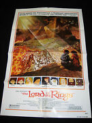The Lord Of The Rings 1978 Ralph Bakshi Animation Rare Style-b Mint Unused