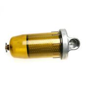 For Gasoline Diesel 17 Micron 496 Fuel Tank Filter With 1andrdquo Npt Top Cap Assembly