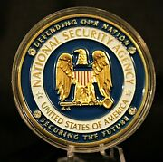 National Security Agency Fbi 60th Anniversary Challenge Coin Police
