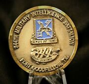 344th Military Intelligence Battalion Texas Commander Army Challenge Coin