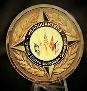 Us European Command Headquarters Chief Of Staff General Useucom Challenge Coin