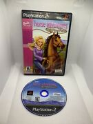 Barbie Horse Adventures Wild Horse Rescue Playstation 2 Ps2 No Manual