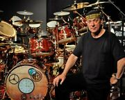 Rush Band Neil Peart 5x7 Color Photo 1