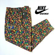 Nike Sportswear Menand039s Woven Reissue 90and039s Pants Cw2575 Multicolor Size M L Xl