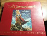 The Ten Commandments 35th Anniversary Collector's Edition Vhs Edition Sealed New