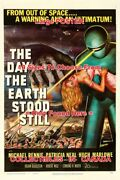The Day The Earth Stood Still 1951 Out Of Space = Movie Poster 10 Sizes 18-5 Ft