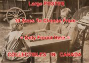 Chess 1920and039s Girl And Man Chessboard Barn Farmer = Poster 10 Sizes 14 - 5 Feet
