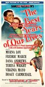 Best Years Of Our Lives 1946 =poster 3 Sizes 4 / 6 / 7 Feet === Buy 2 Get 1 Free