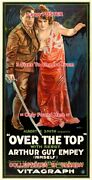 Over The Top 1918 Sergt. Arthur Guy Empey Sword =poster 3 Sizes 2x4 3x6 3.5x7 Ft