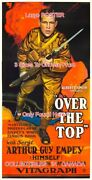 Over The Top 1918 Sergt. Arthur Guy Empey War =poster 3 Sizes 4 Ft / 6 Ft / 7 Ft