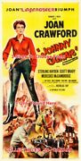 Johnny Guitar 1954 Joan Crawford Cowgirl Western =poster 3sizes 2x4 3x6 3.5x7 Ft