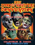 Famous Monsters Convention 1975 New York City = Poster 10 Sizes 17 - 5 Feet