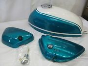 Suzuki T500 Show Quality Tank And Side Cover 1971 T500r
