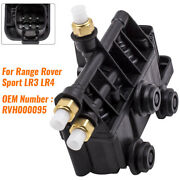 Air Suspension Valve Block Front Rvh000095 For Land Rover Discovery Lr3 Lr4 New