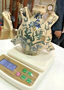 Antique Ancient Islamic Art Persian Pottery Glazed Vase Water Handcrafted Rare
