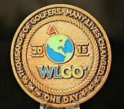 Worlds Largest Golf Outing Wlgo Wounded Warrior Project Military Challenge Coin