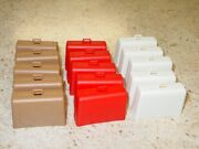 Set Of 15 Tonka Airport Tug Suitcase/luggage Replacement Toy Parts Tkp-161-15
