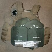 New Fully Plated Eagle Industries Usmc Coyote Scalable Plate Carrier Spc