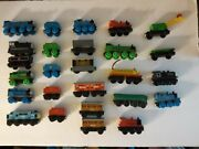 Thomas The Train And Friends Wooden Magnet Trains Lot Of 26 Trains