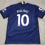 Chelsea 2020-2021 Home Jersey Christian Pulisic 10 Football Soccer Menand039s Shirt