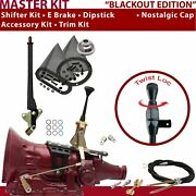 Aod Shifter Kit 6andampquot E Brake Cable Clevis Trim Kit Dipstick For C83f6