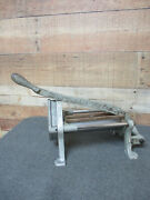 Vintage King French Fry Cutter W/ Blade Strite Anderson Co.usa