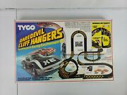 Tyco Daredevil Cliff Hangers 1984 Slot Car Racing Complete Manual + Cars Rare