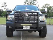 New Ranch Style Smooth Front Bumper 10 - 18 Dodge Ram 2500 3500 60-12260