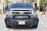New Steelcraft Smooth Plate Winch Mount Front Bumper 09-14 Ford F150
