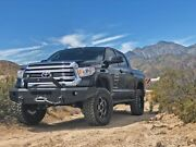 New Steelcraft Smooth Plate Winch Mount Front Bumper 14 - 20 Toyota Tundra