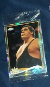Andre The Giant '14 Topps Chrome Wwe 96 Atomic Refractor Cracked Ice Sealed Pack