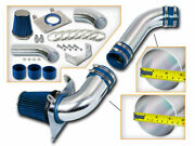 3.5 Blue Cold Air Intake Racing System + Filter For 87-88 Mustang 5.0l V8