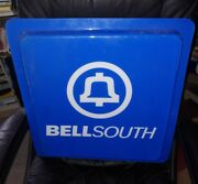 Bellsouth Plastic Pay Phone/boothandnbspsign Large 21x21