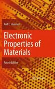Electronic Properties Of Materials Paperback By Hummel Rolf E. Like New Us...