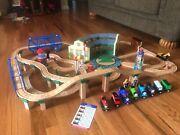 Thomas The Tank Engine Tidmouth Sheds Deluxe Set Train Set With Toy Chest