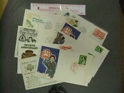 Girl Scout Stamp Covers - Japan, Us, Cz 0129ee