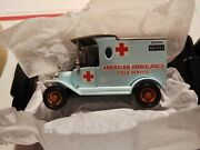 Matchbox Collectible American Ambulance Field Service 1912 Ford Model T. New