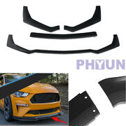 1 Set Gt Style Vehicle Body Splitter Deflector Lips Diffuser Protection Tool Kit