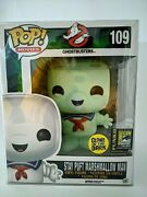 Glow Stay Puft Marshmallow Man - 109 Ghostbusters Sdcc Exclusive Please Read