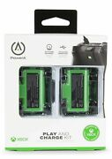 Powera Play And Charge Kit For Microsoft Xbox Series X/s Xbox One 2-pack Sealed