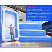 Outdoor Large 3layer Inflatable Square Swimming Pool Kids Adult Pools In 5 Sizes