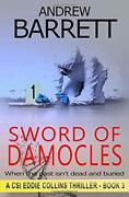 Sword Of Damocles Csi Eddie Collins By Barrett, Andrew Book The Fast Free