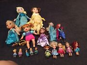 Disney Princess Doll Bundle Includes Anna Frozen Toddler Soft Body And More Vgc