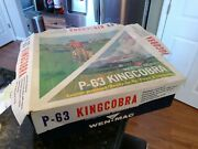 King Cobra P63 Fighter-bomber Toy Model Airplane Mac Incomplete Untested